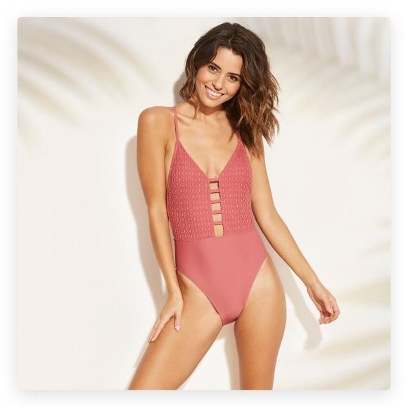 81a73bd10c489 Xhilaration Swim | Super Cute One Piece High Leg Suit Nwt | Poshmark